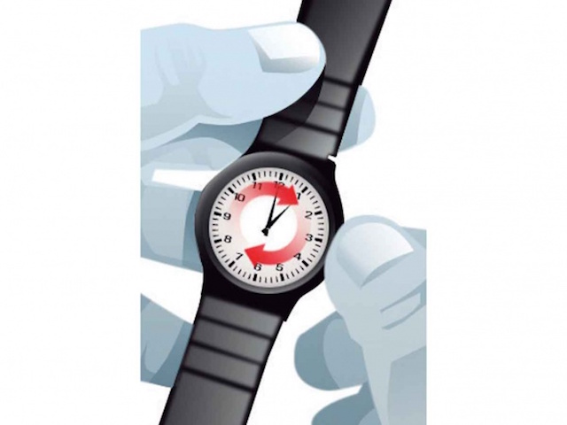 No olvides adelantar una hora tu reloj esta noche