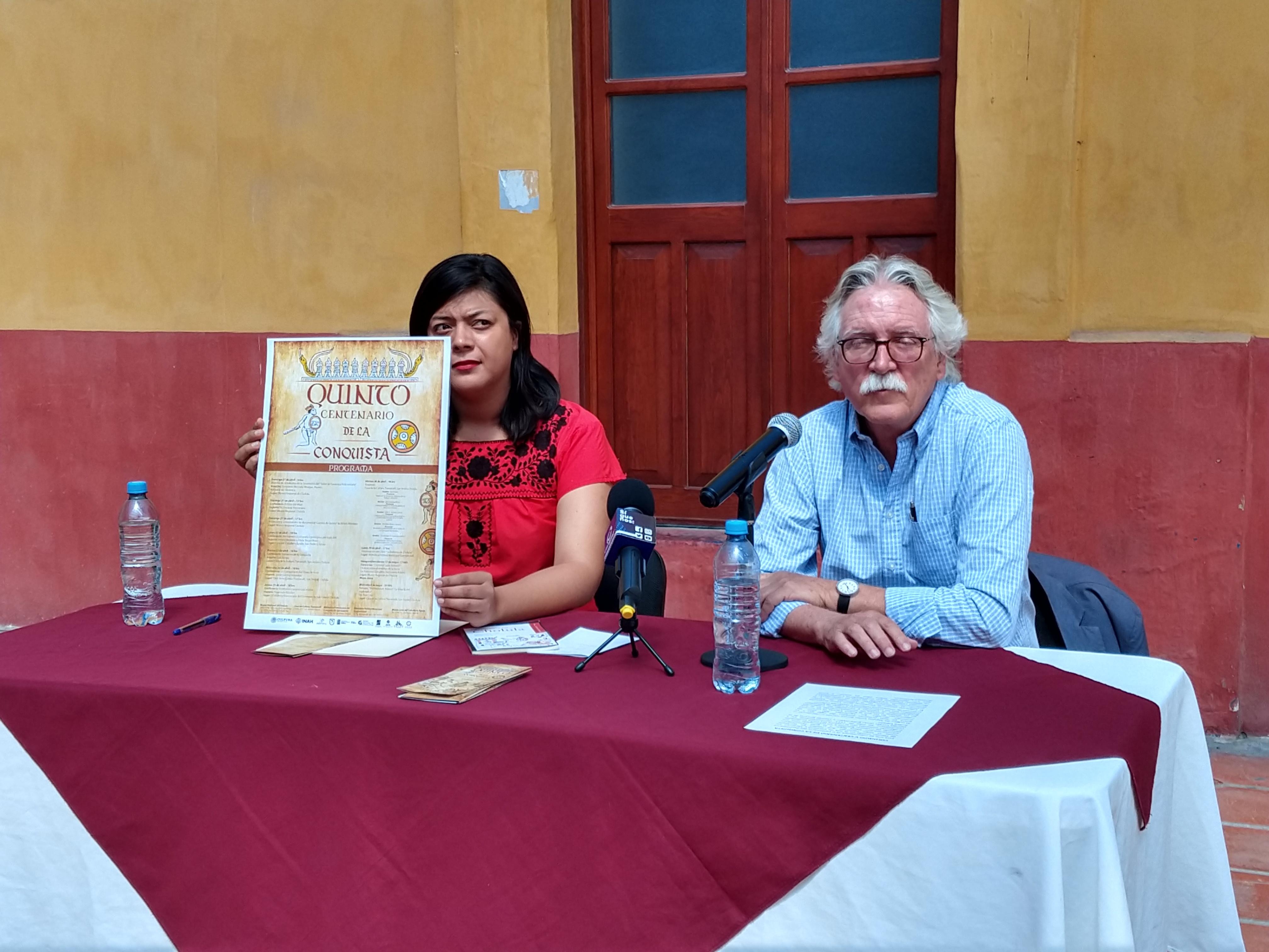 Anuncian actividades por los 500 años de la conquista en San Andrés Cholula