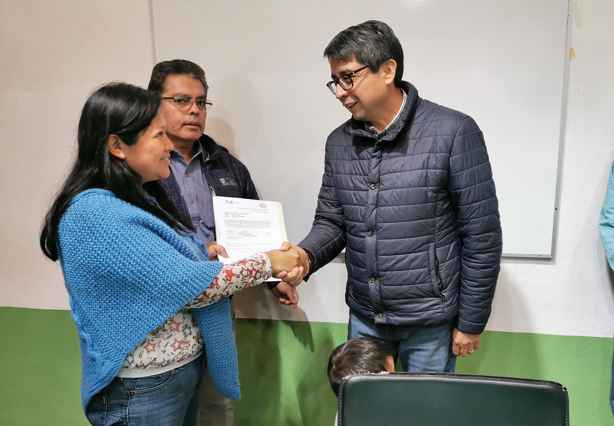 Desde Tlaxcala: Entrega SEFOA apoyos para mitigar el cambio climático