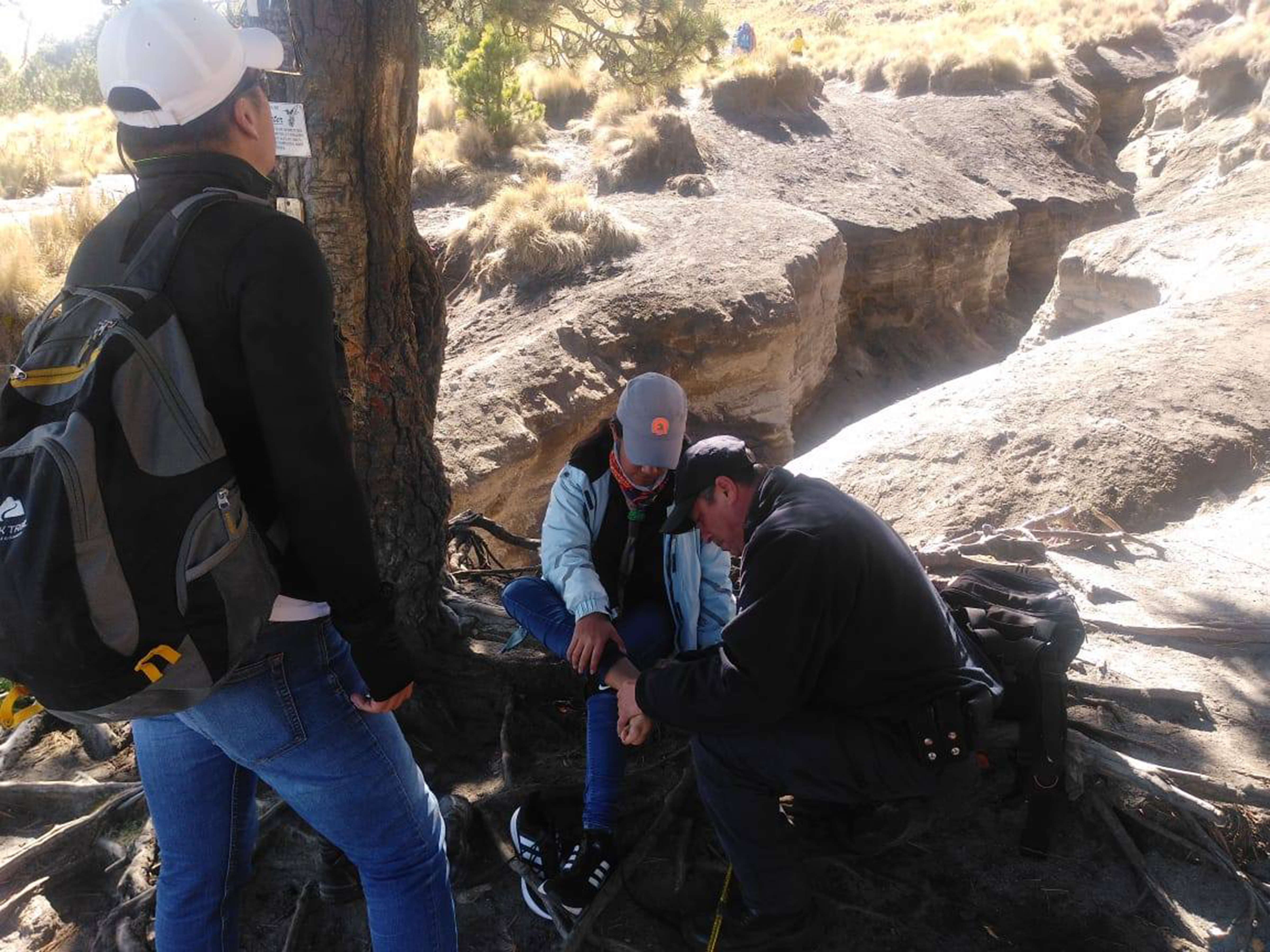 Desde Tlaxcala: Policía de Montaña auxilia este fin de semana a tres personas