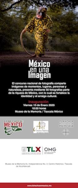 """Desde Tlaxcala: Invita Museo de la Memoria a exposición """"México en una imagen"""""""