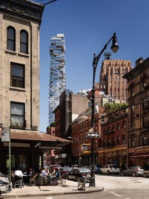 La torre 56 Leonard, aclamada por la crítica, nombrada Edificio Descollante de la Década