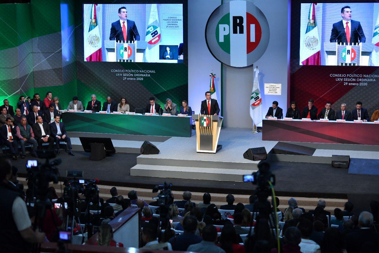 El PRI no obedece a ningún presidente de la república, ni presente, ni pasado: Alejandro Moreno
