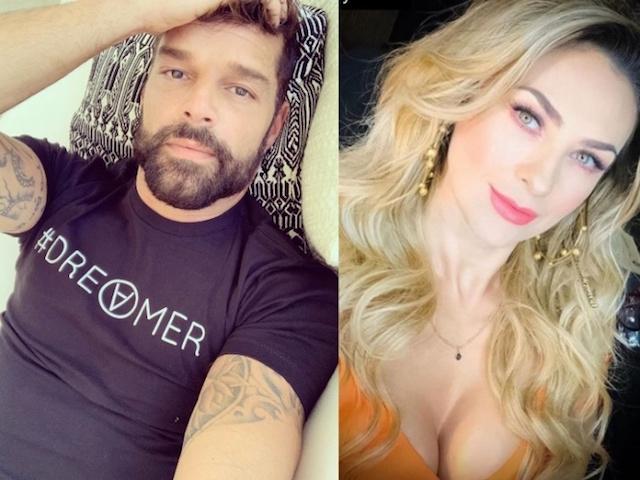 Ricky Martin le bajó el novio a Aracely Arámbula; era actor de Soñadoras