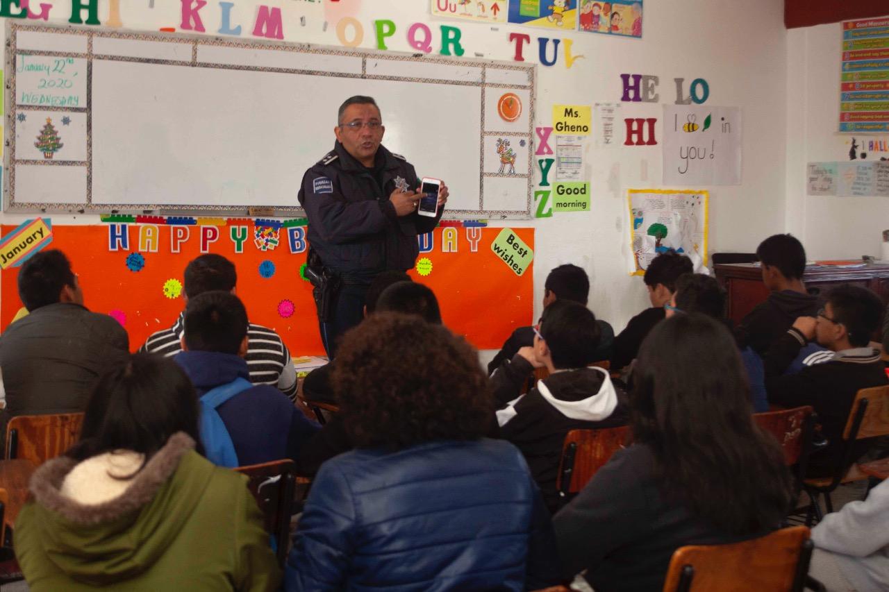 Respalda SEPE jornadas de prevencion del delito en planteles educativos.