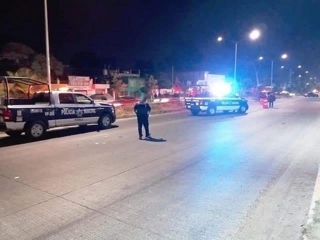 Muere mujer atropellada frente a la nueva Plaza de Amalucan