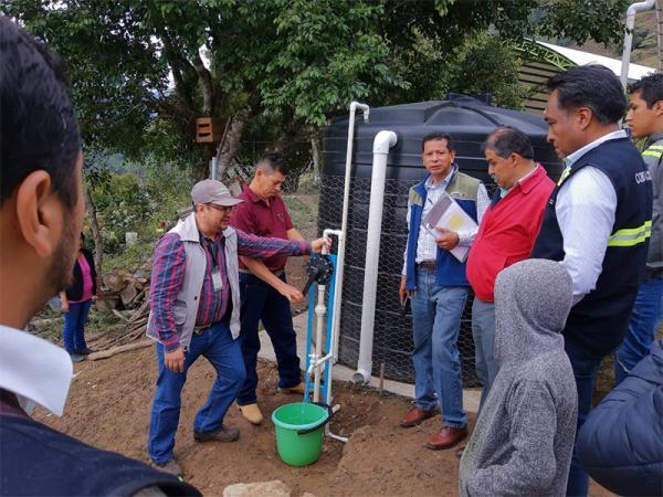 Implementa Gobierno del Estado acciones para abastecer de agua potable a zonas rurales