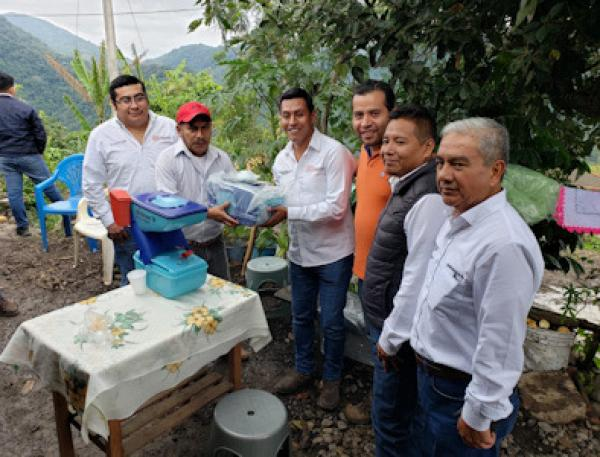 Continúa Gobierno del Estado con entrega de sanitarios ecológicos en zonas vulnerables
