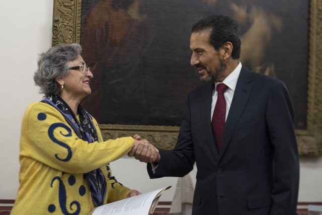 Nombra el Rector Alfonso Esparza Ortiz a Guadalupe Grajales y Porras como titular de la Secretaría General de la BUAP