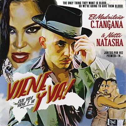 """Con su nuevo sencillo """"Viene y Va"""", C Tangana une su talento con Natti Natasha"""
