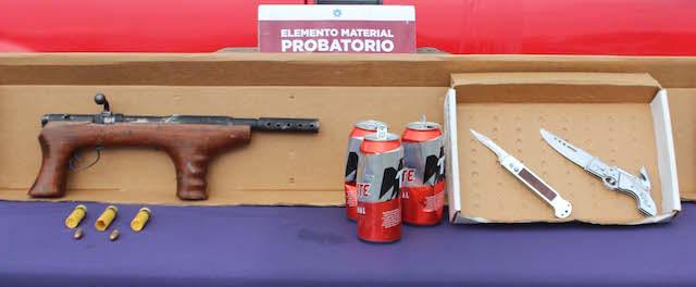 Exitosamente, detuvo SSC de Puebla a tres hombres presuntamente dedicados al robo de vehículo con violencia