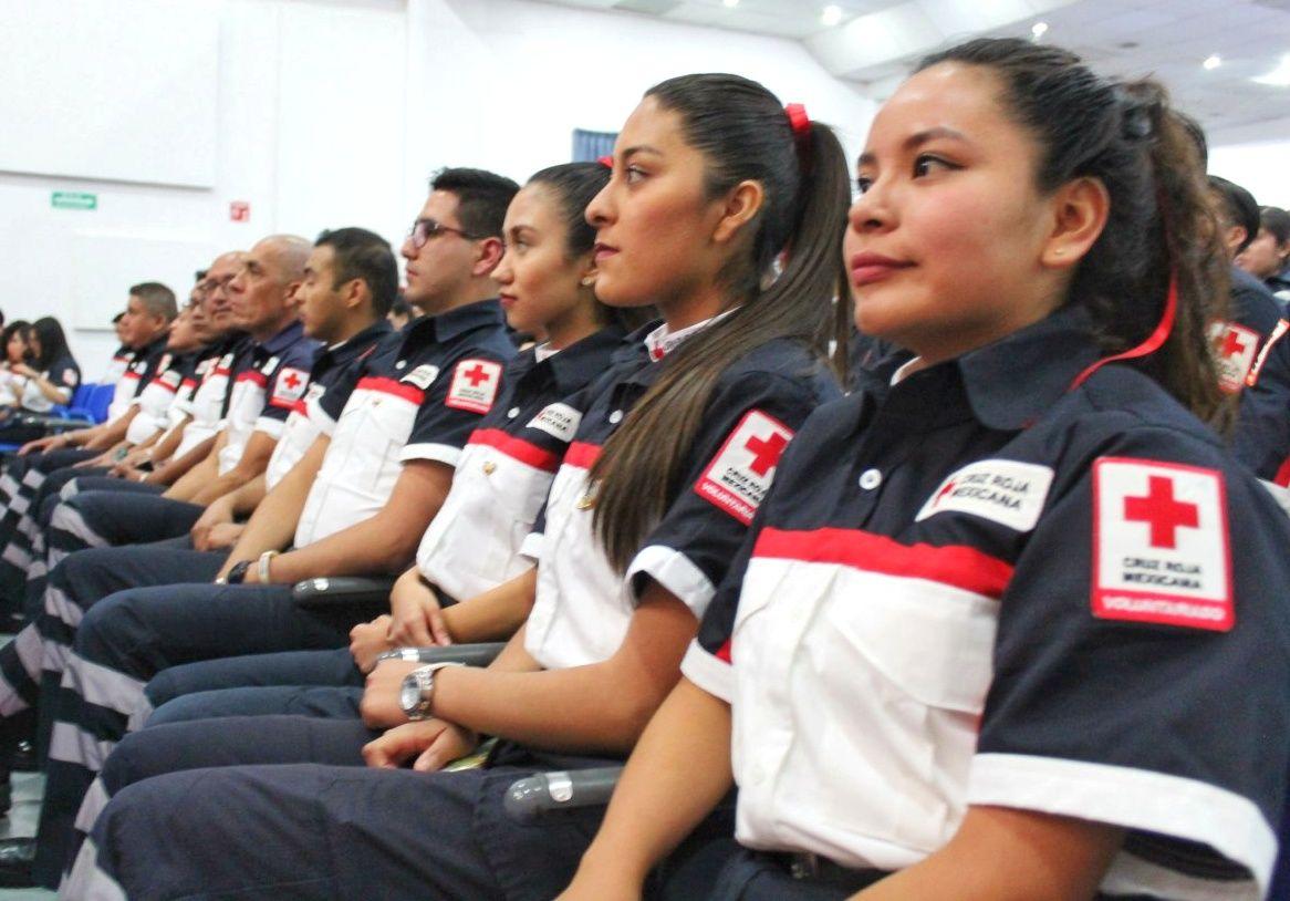 Egresan 70 Técnicos en Urgencias Médicas de Cruz Roja Ciudad de Puebla