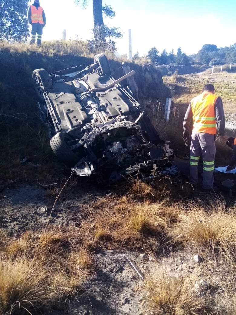 Fatal accidente cobró la vida de una persona en la Amozoc-Perote