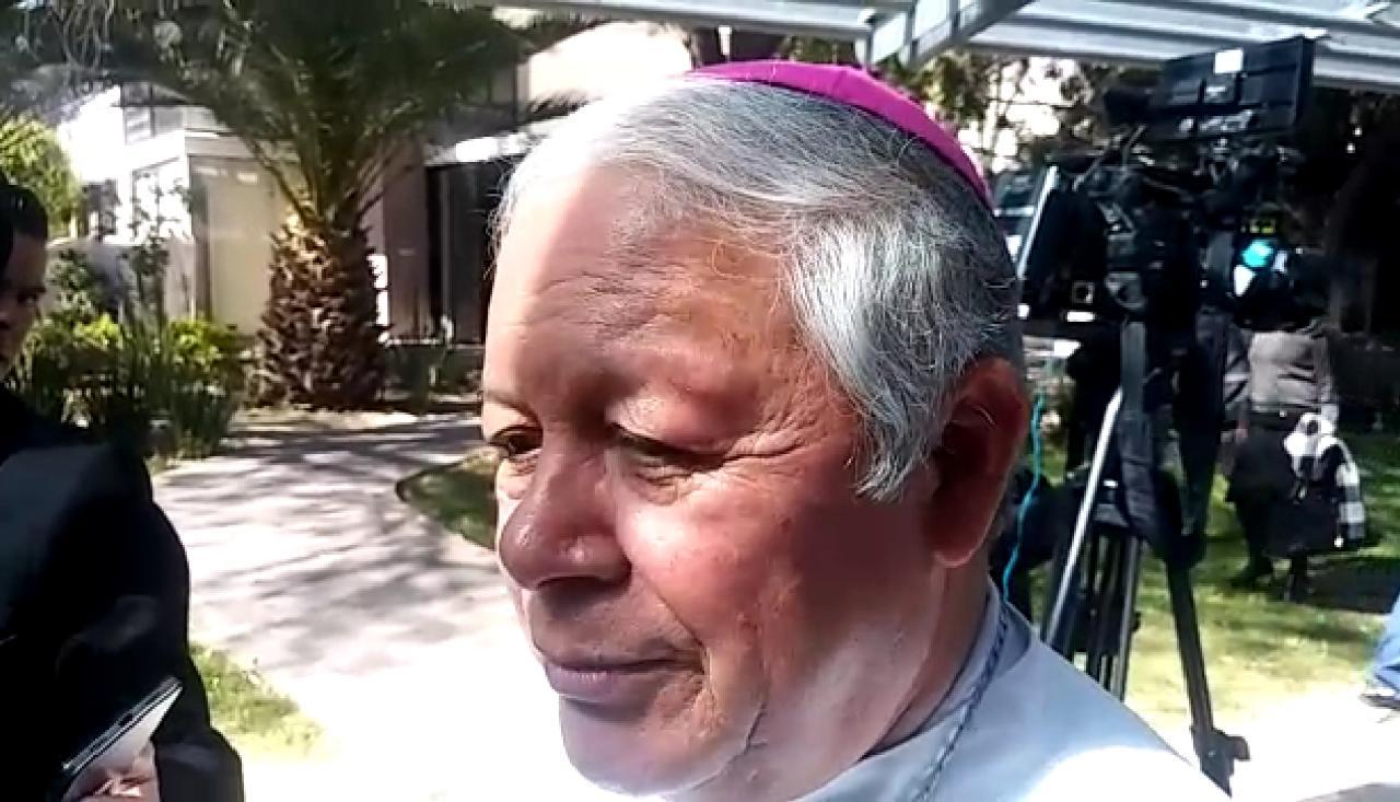 Descarta Arzobispo de Puebla afectaciones por el sismo ocurrido en Oaxaca