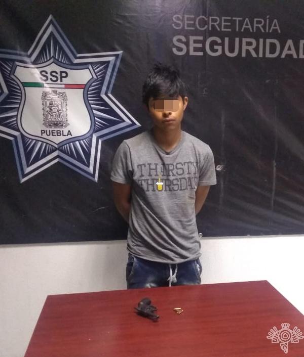 Captura SSP a presunto asaltante