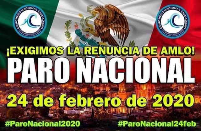 Convocan a un paro laboral en Puebla y a nivel nacional