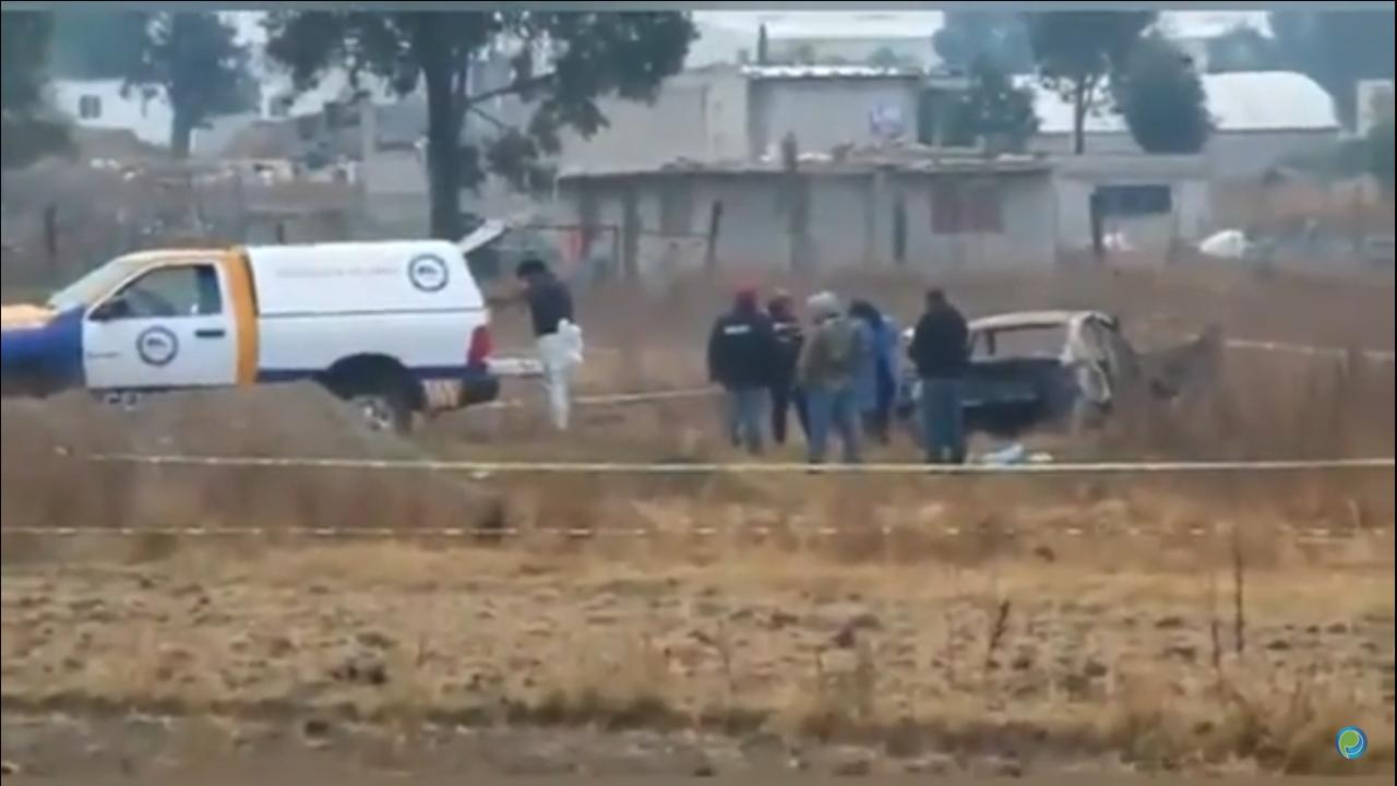 Encuentran a 5 quemados en Almecatla, Cuautlancingo