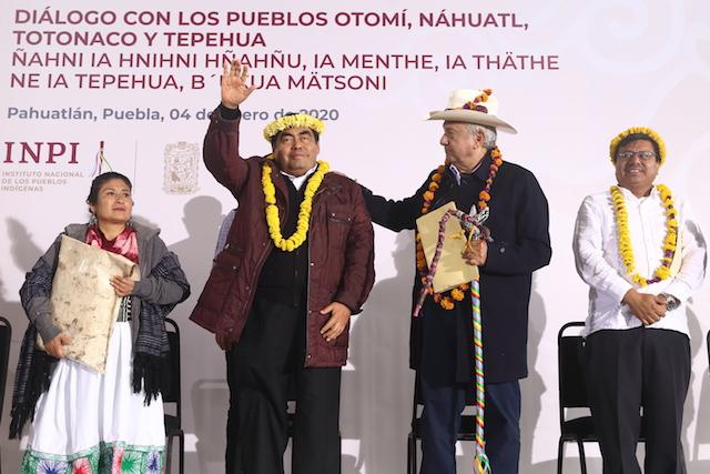 Pueblos originarios, agentes de cambio: Barbosa Huerta