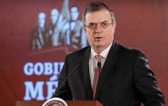 Secretario de Relaciones Exteriores, Marcelo Ebrard, declara la Emergencia Sanitaria