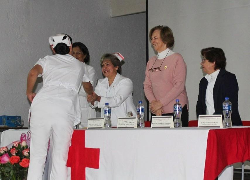 Cruz Roja Ciudad de Puebla reconoce la labor de sus enfermeras y enfermeros