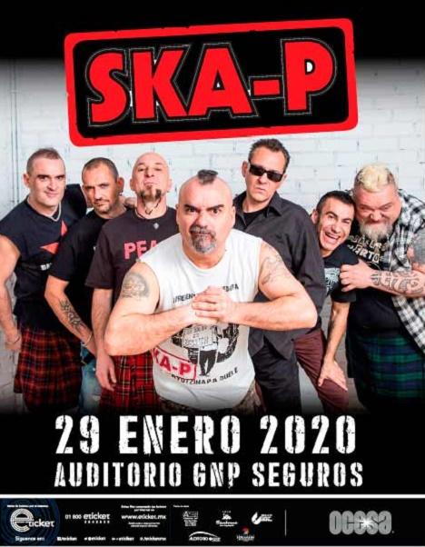 """La banda española """"Ska-P"""" se presentará por primera vez en Puebla"""