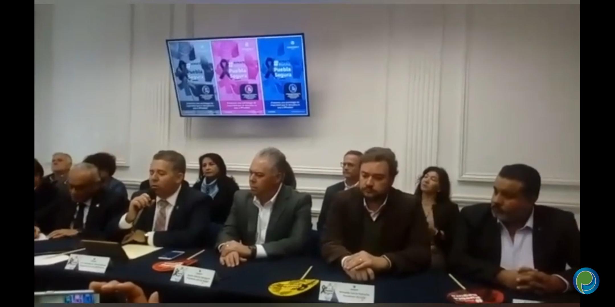 Coparmex anuncia su campaña Puebla Segura