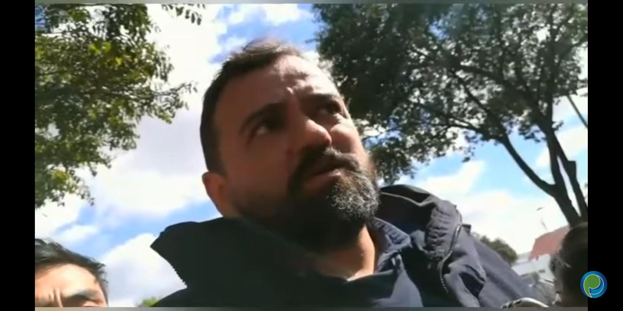 René Sánchez prometió limpiar de ambulantes la 5 de Mayo