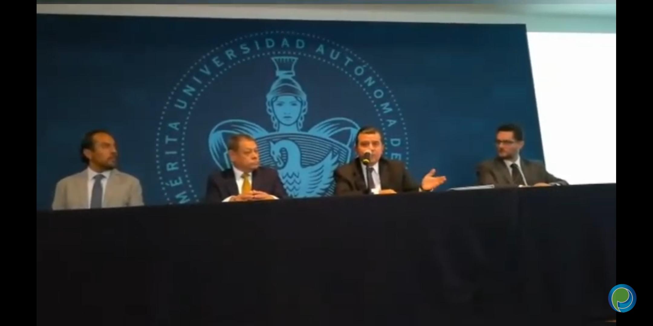 La BUAP presentará denuncia contra Francisco Romero