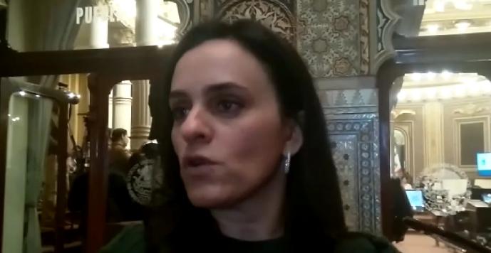 Se aferra Monica Rodríguez a la coordinación de la bancada del PAN en el Congreso