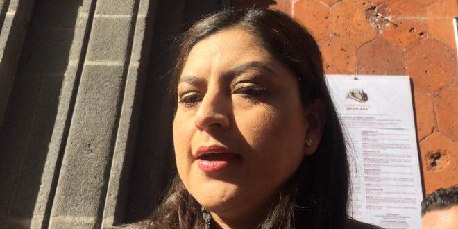 Claudia Rivera reiteró permanencia de Lourdes Rosales en Seguridad