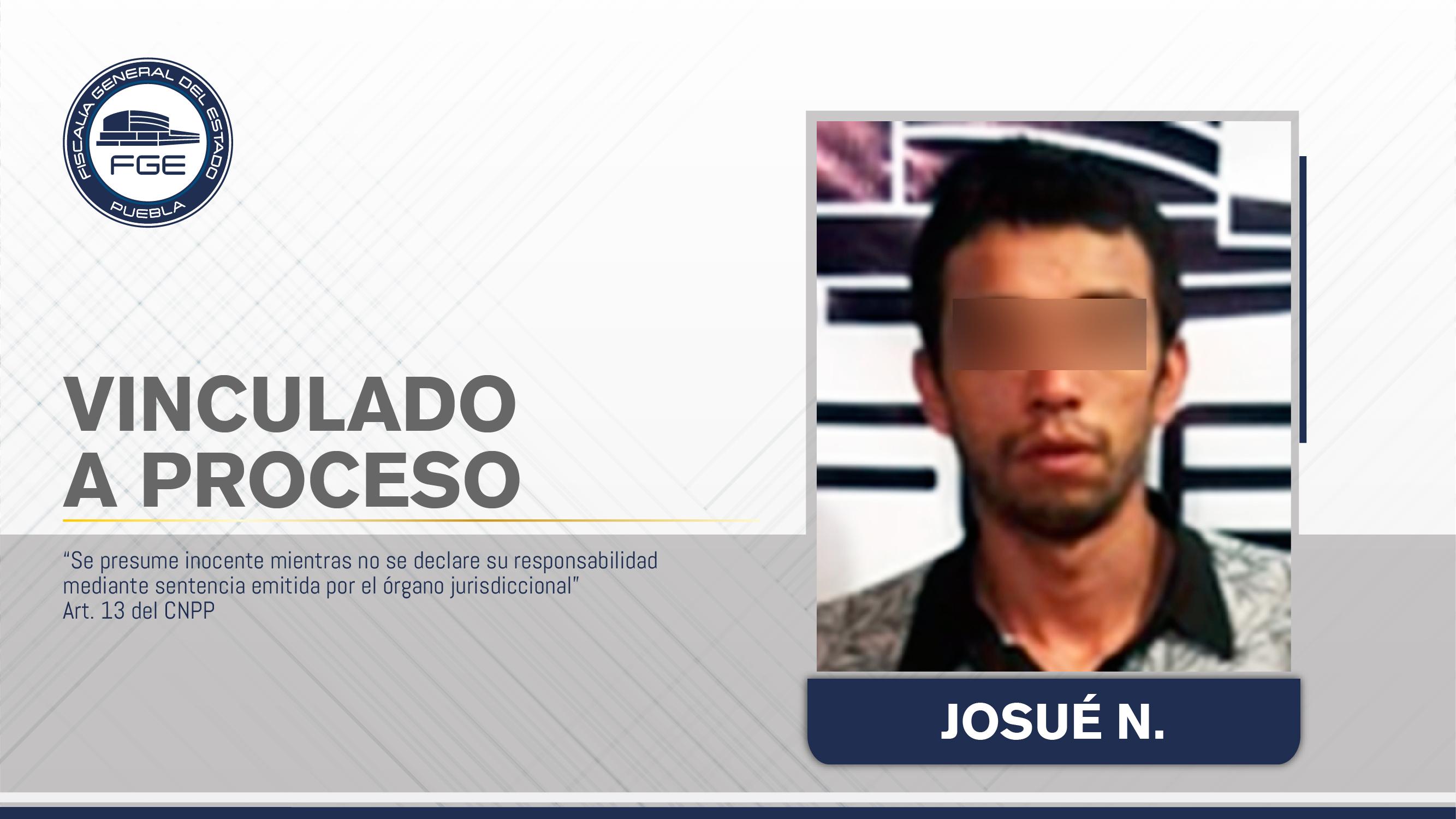 Vinculado a proceso por homicidio calificado en intento de robo