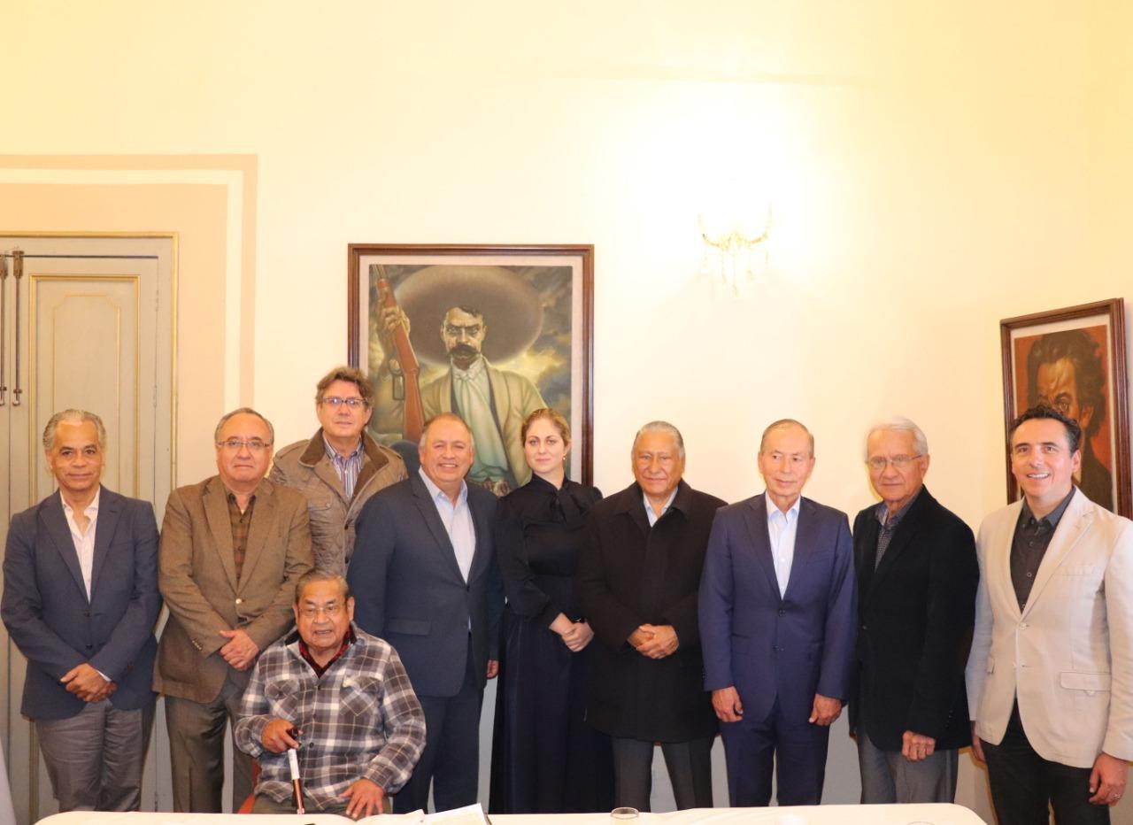 Expresidentes del PRI de Puebla refrendan su lealtad y compromiso de unidad