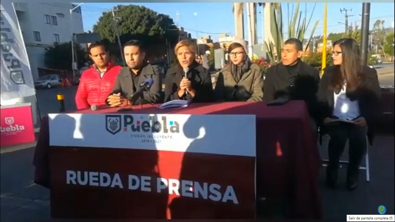 Titular de Movilidad de Puebla capital defiende programas viales del ayuntamiento