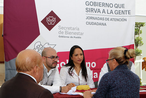 Consolidan martes ciudadano un gobierno incluyente: Miguel Barbosa