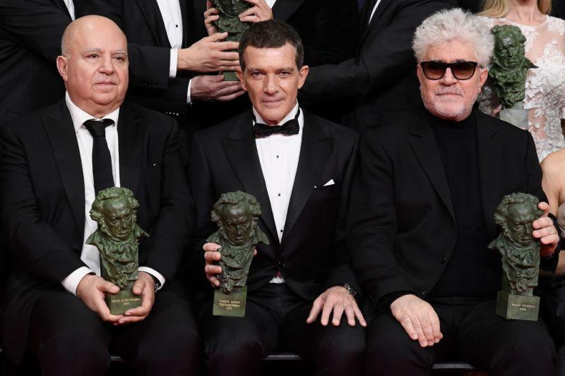 Antonio Banderas se lleva el primer Goya de su carrera… y Almodóvar arrasa