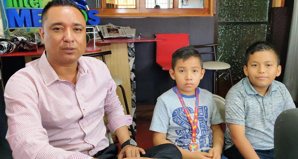 Niños tapachultecos presentes en la Olimpiada Nacional de Matemáticas