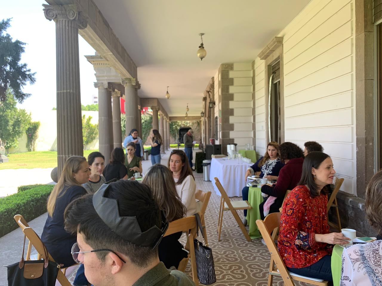 Esta semana, tarde de café en el Museo Francisco Cossío