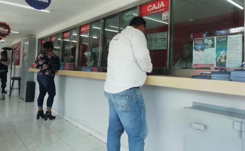 Desde Tapachula: Cuesta de enero incrementa el número de pignorantes en el Soconusco