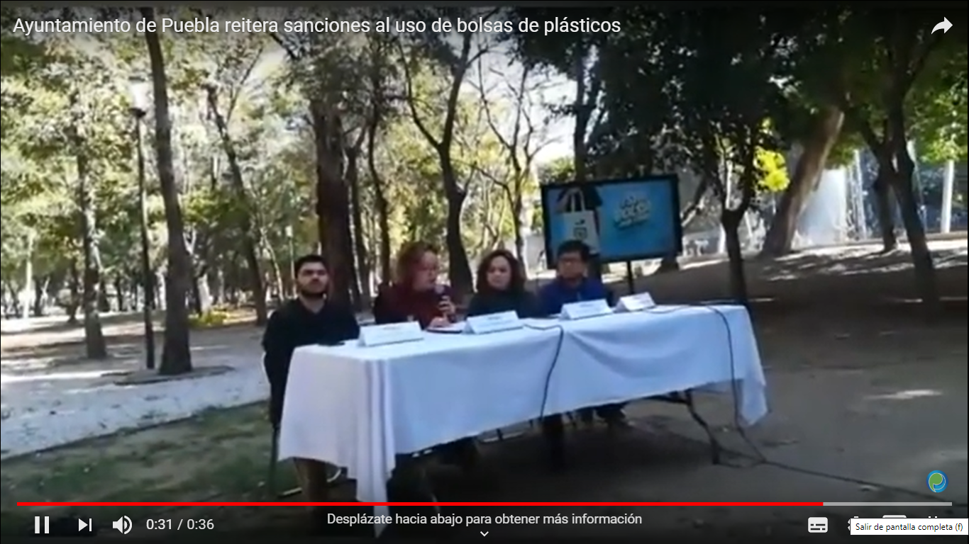 Ayuntamiento de Puebla reitera sanciones al uso de bolsas de plásticos