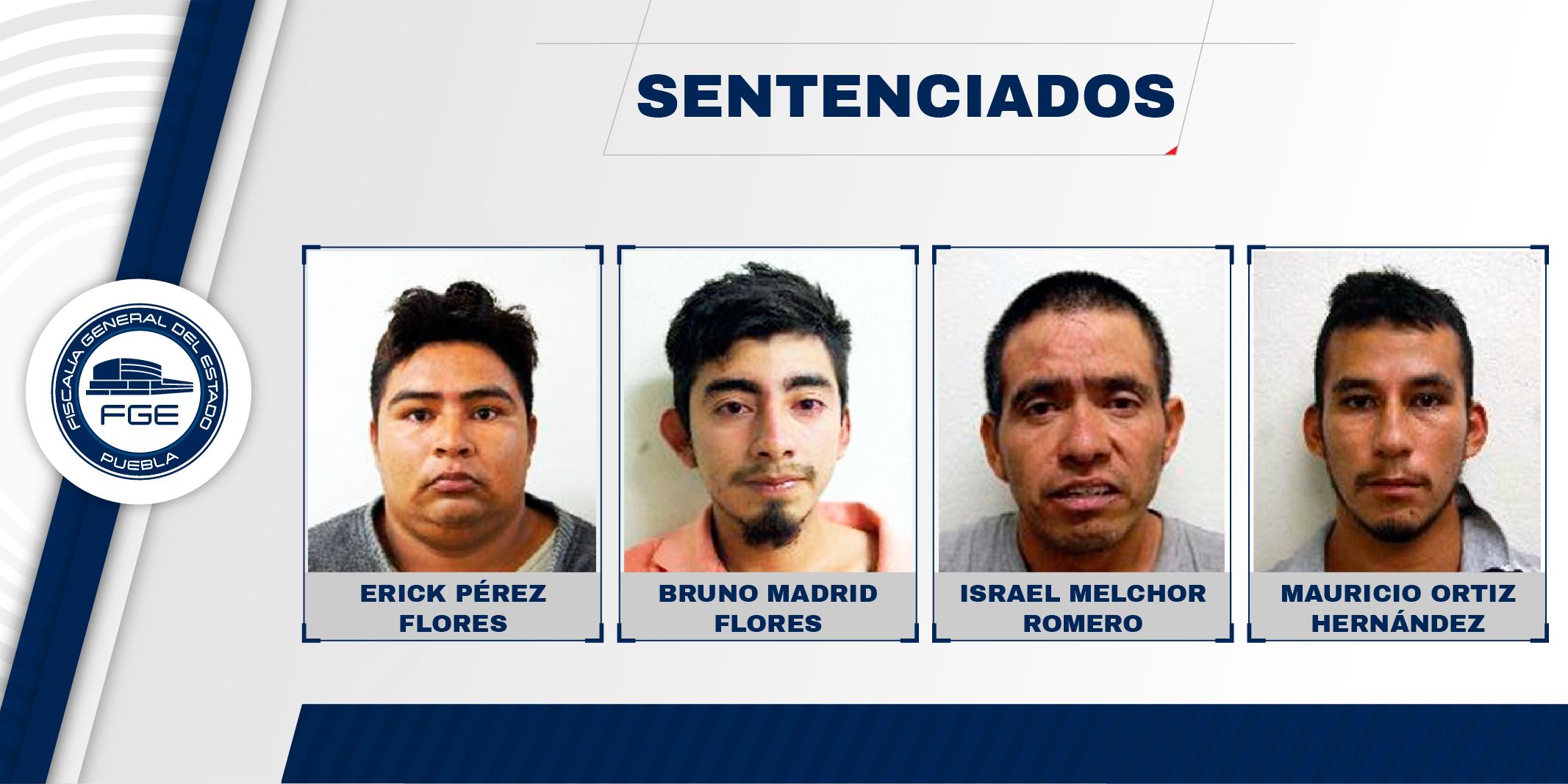 Sentencias de cuatro secuestradores suman 200 años de prisión