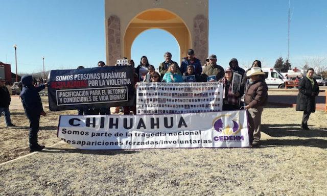 Víctimas de desplazamiento forzado piden a AMLO una ley para atender a los afectados