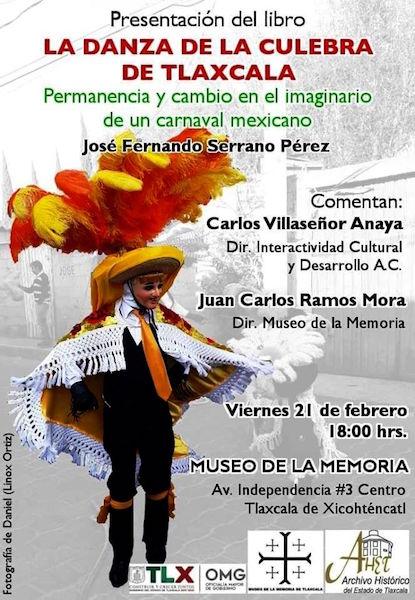 """Presenta museo de la memoria actividades en el marco del """"Carnaval Tlaxcala 2020"""""""