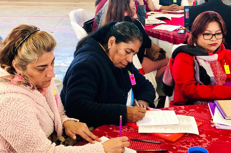 SEPE imparte talleres a docentes de educación indígena.