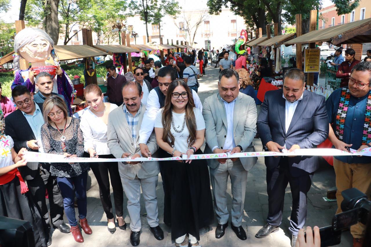 """Desde Tlaxcala: Inaugura Secretaría de Turismo pabellón gastronómico y artesanal del """"Carnaval Tlaxcala 2020"""""""