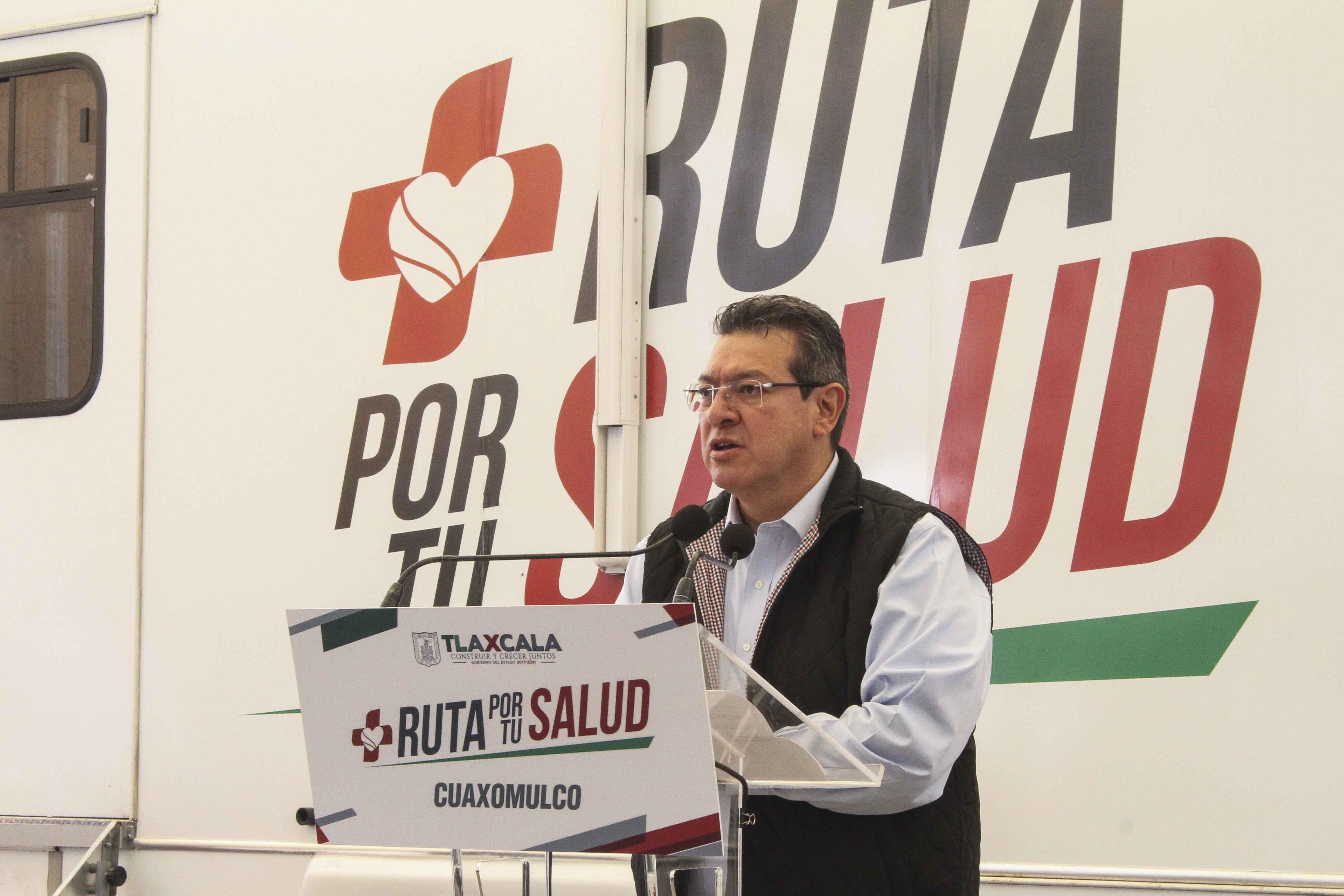 """""""Ruta por tu Salud"""" suma más de 6 mil mastografias realizadas: Marco Mena"""