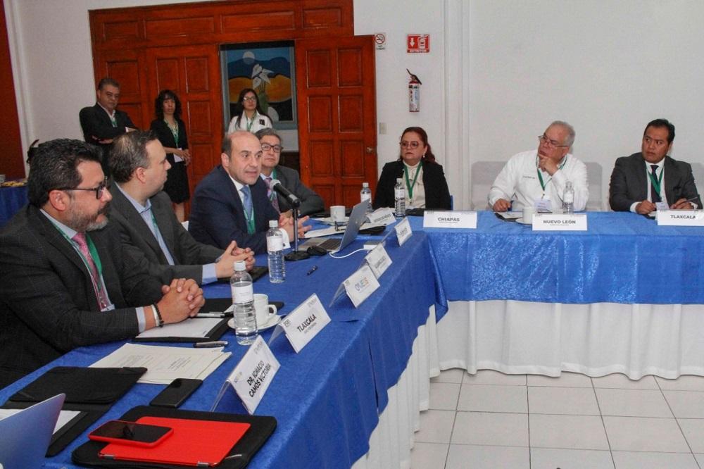 Inician pensiones civiles reunión nacional de instituciones estatales de seguridad social.