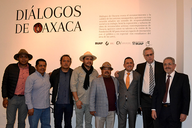 Arte oaxaqueño en Puebla apoya programas de responsabilidad social de la Fundación BUAP