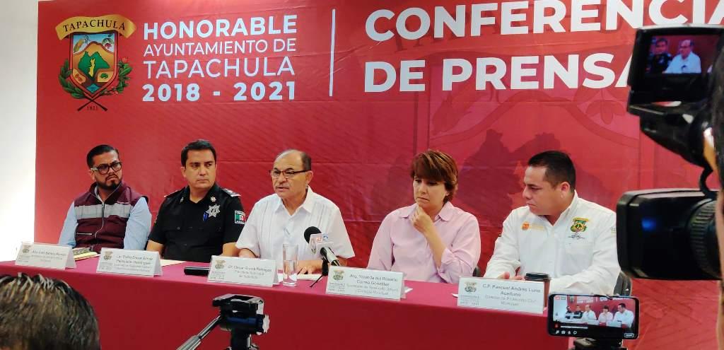 Desde Tapachula: Confía Gurría Penagos en que el Congreso de la Unión aumente el presupuesto para migrantes.