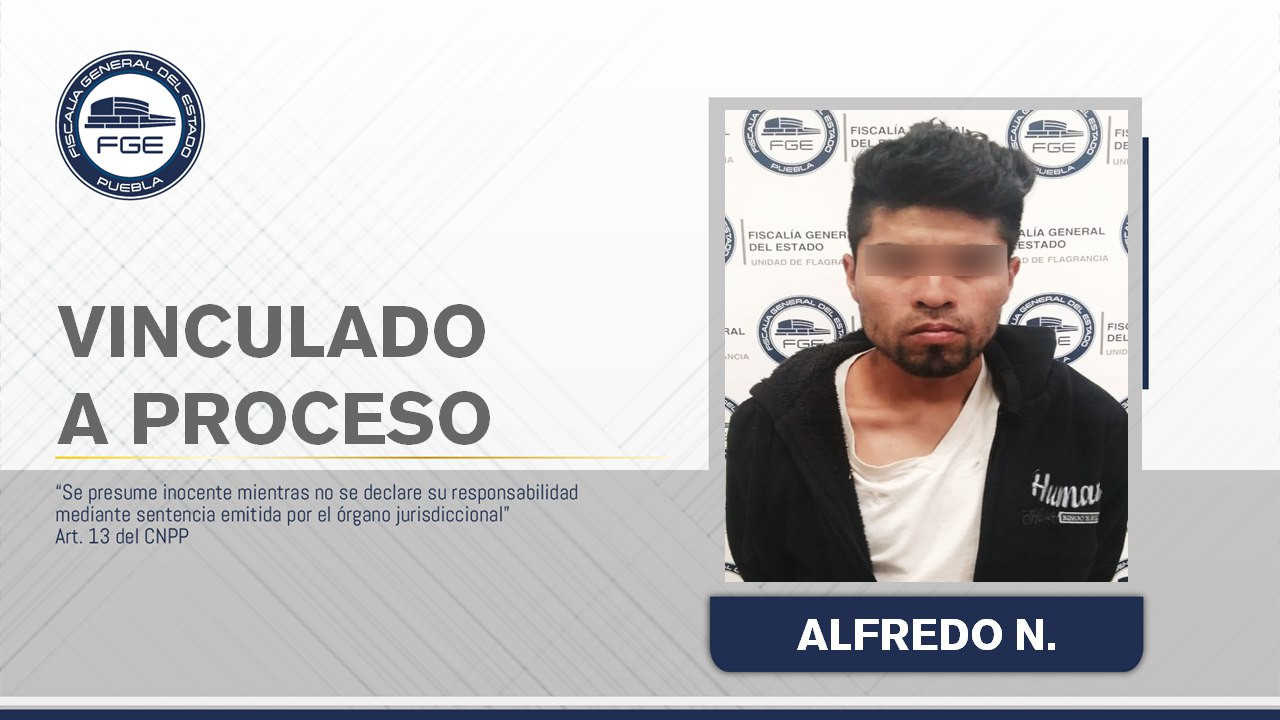 Mató a su concubina en Coronango y después agredió a los policías, pero ya está detenido en la FGE Puebla