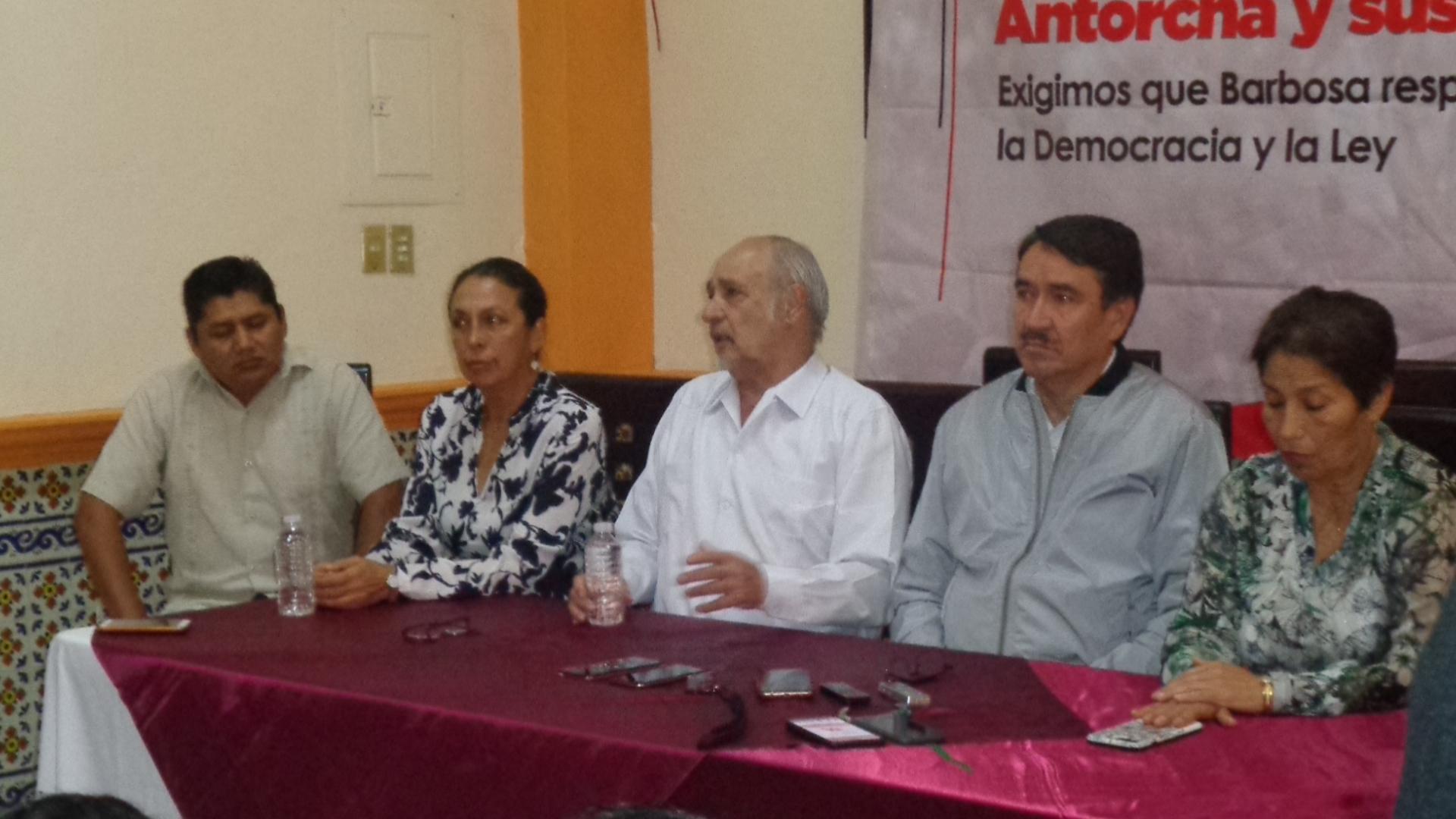 Antorcha Campesina alerta que sus allegados no dejarán los terrenos donde están asentados